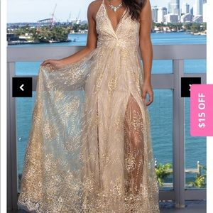 Saved by the Dress formal gown